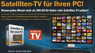 Online TV ohne laufende Kosten – Alle Sender
